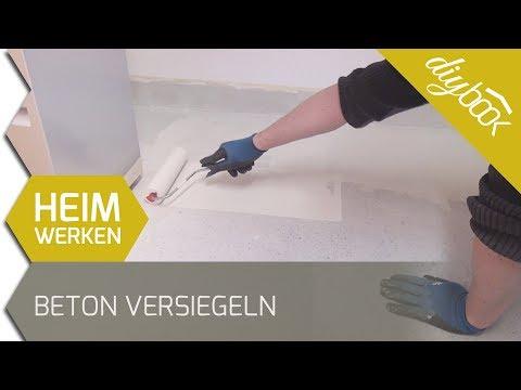 Beton versiegeln - 2k Epoxidharz Bodenbeschichtung