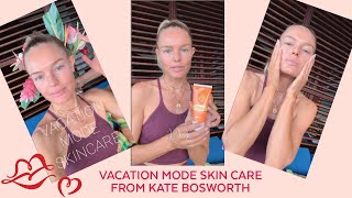 Kate Bosworth Shares Her Vacation Skin Care Tips. Get That Vacation Glow On With Sun SiBelle!