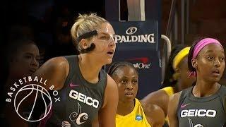 [WNBA] Indiana Fever vs Washington Mystics, Full Game Highlights, August 18, 2019