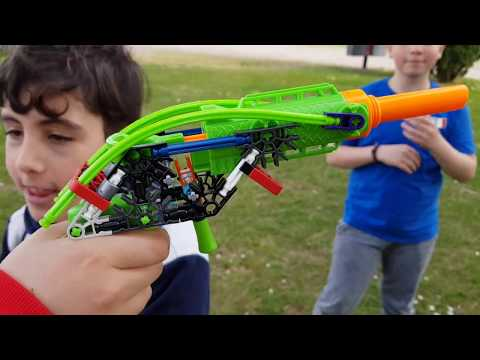 Kforce k'nex vs Nerf