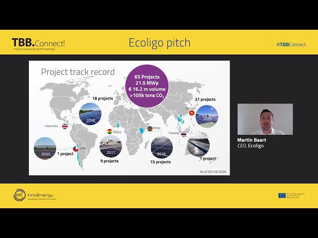 Pitching sessions: Ecoligo