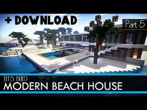 Modern Beach House Download Minecraft Map