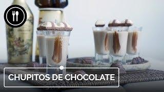 Chupitos de chocolate, la receta más fácil para disfrutar con amigos