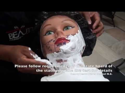 Barbering-shaving: How to Shave for State Board Test: Demo ...