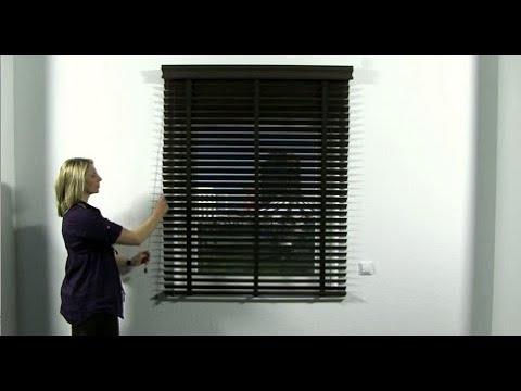 JalouCity - Bedienung Holzjalousie - Schnurzug 50mm (Wand)