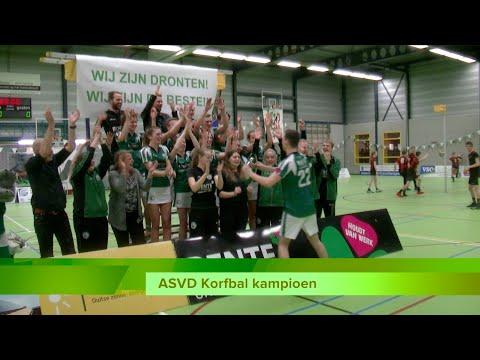 Er is een donderspeech voor nodig om ASVD Korfbal als kampioen te laten spelen