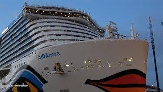 Спуск на воду першого в світі круїзного лайнера на СПГ