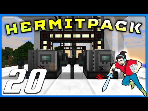 HermitPack | Ep 20 | I POISON AND PLASTIC! || Minecraft 1.10 Modded
