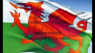 """Welsh National Anthem - """"Hen Wlad Fy Nhadau"""" (CY/EN)"""