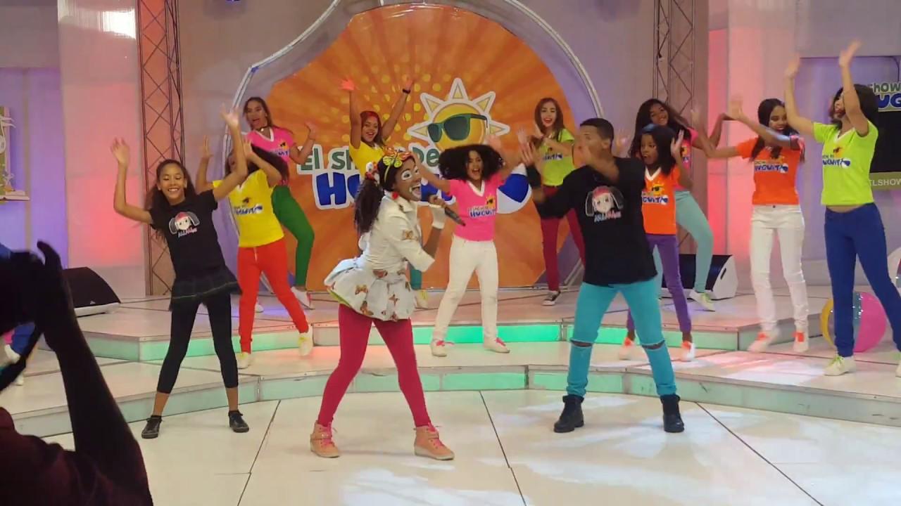 Mimi XZ -Homenaje a Xuxa \ en El Show de Huguito (detrás de cámaras)