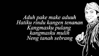 """Didi Kempot """"Prawan Kalimantan Lirik"""""""