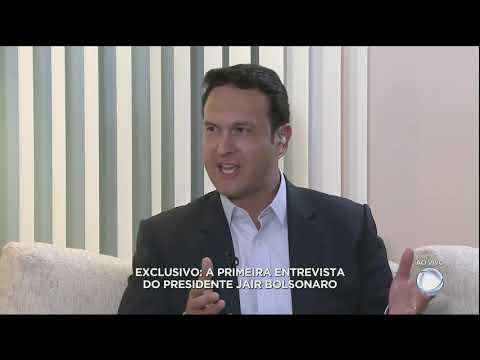 Bolsonaro dá primeira entrevista para a Record  - Gente de Opinião