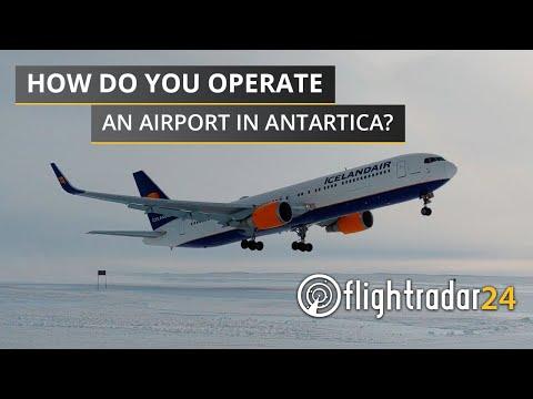 Antarctica has it's Own Airport