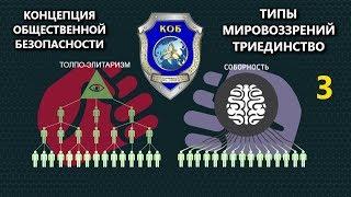 Концепция Общественной Безопасности - Типы Мировоззрения (Триединство)