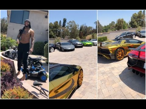 Chris Brown G-Checks Sage The Gemini Over Claiming Lamborghini Was His (видео)