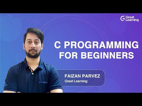 C Programming for Beginners   C Programming Tutorial   Learn C Programming   Great Learning