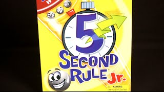5 Second Rule Jr. Game from Patch Products