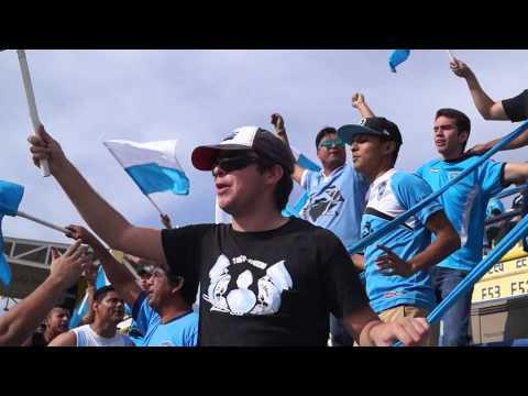 """¡Vamos Jaiba Brava Vamos Vamos a Ganar!"" Barra: La Terrorizer • Club: Tampico Madero • País: México"