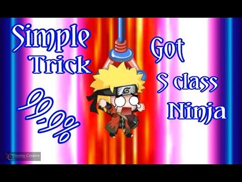 Video Ninja Heroes/Heroes Legend Android - Trick Mudah Dapat Ninja Class S 99,9% Ampuh