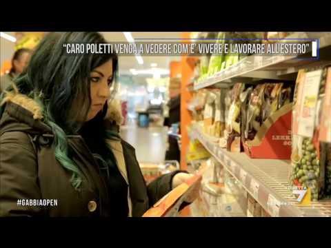 'Caro Poletti venga a vedere com'è vivere e lavorare all'estero'
