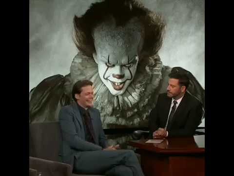 Bill talks on transforming into Pennywise! (Jimmy Kimmel Show) | MTW