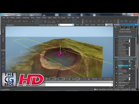 "CGI 3D Game Tutorial : ""Intro to World Machine to CryEngine Pipeline"" – by 3dmotive"