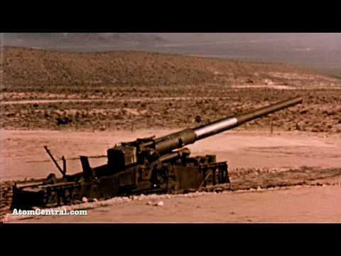 The Atomic Cannon Test 1953