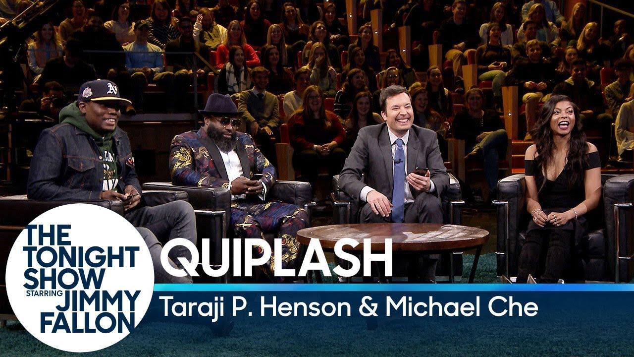 Quiplash with Taraji P. Henson and Michael Che thumbnail