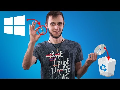 Как быстро установить Windows 10 c флэшки