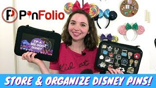 Store And Organize Disney Trading Pins | Testing Out The PinFolio!