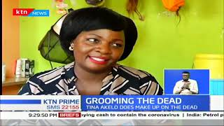 Makeup on the dead: Meet Tina Akelo who earns her living on grooming the dead