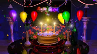 YouTube e-card Beautiful 3D animation of a birthday cake descending down to a table Nice graphics and good celebration Send this to..