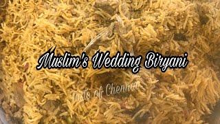 பாய் வீட்டு மட்டன் பிரியாணி செய்வது எப்படி?   Mutton Biryani Muslim Style In Tamil