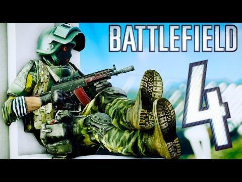 Battlefield 4 Random Moments #85 (Funny Death Pose , Elevator Fail!)