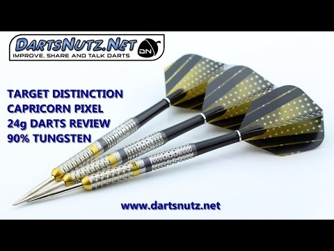 Target Distinction Capricorn Pixel 24g darts review