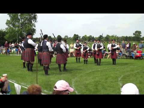 Here's a band I teach and play with performing at the Chicago Highland Games in June of 2015