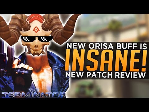 Overwatch: NEW Orisa BUFF is INSANE! - PTR Patch Review