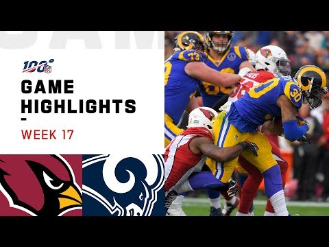 Cardinals vs. Rams Week 17 Highlights | NFL 2019