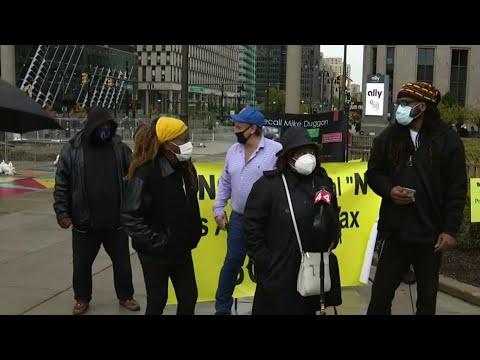 Group looks to recall Detroit Mayor Mike Duggan