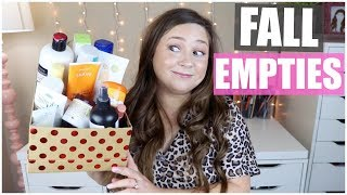 Fall Empties! Products I've Used Up | November 2019