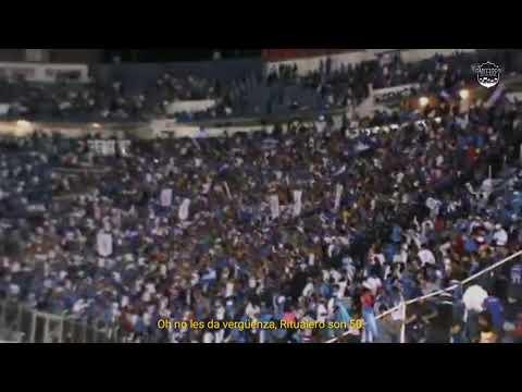 """No les da vergüenza, Ritualero son 50 • La Sangre Azul"" Barra: La Sangre Azul • Club: Cruz Azul"