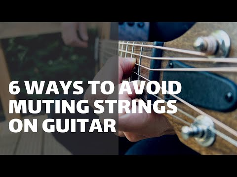 How to avoid muting the strings when you play chords – updated | Online Guitar Lessons