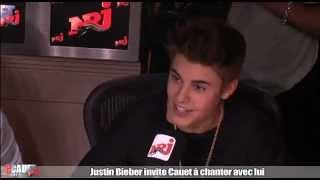Justin Bieber Invite Cauet à Chanter Eenie Meenie