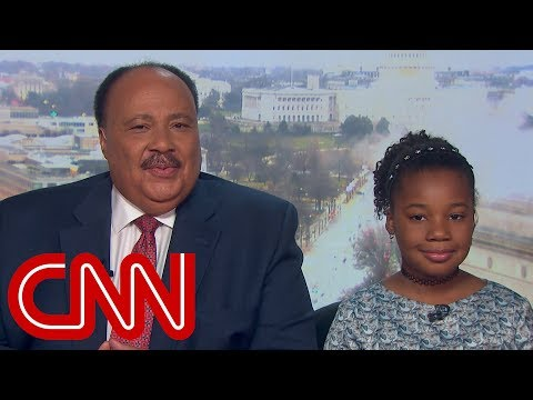 Martin Luther King III and daughter speak about preserving MLK's legacy