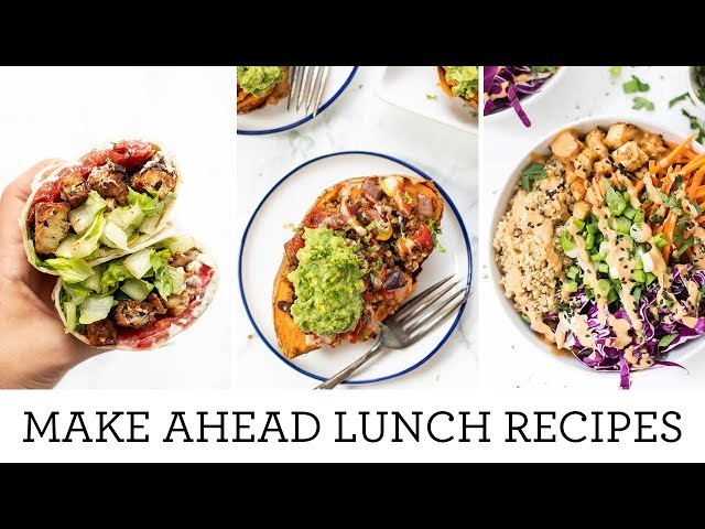 MEAL PREP LUNCH & DINNER RECIPES | Easy Make Ahead Meals