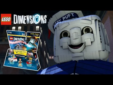 Vidéo LEGO Dimensions 71228 : Pack Aventure : Ghostbusters
