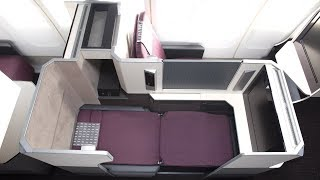 Japan Airlines B777-300ER Business Class London to Tokyo (technical problem!)
