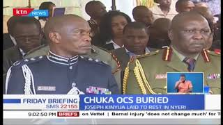 Chuka OCS who was killed by mob buried in Nyeri
