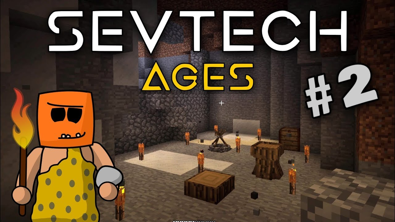 Minecraft - Clay Kiln and First Chests - SevTech Ages #2