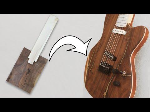 Making A Custom Guitar From Scratch